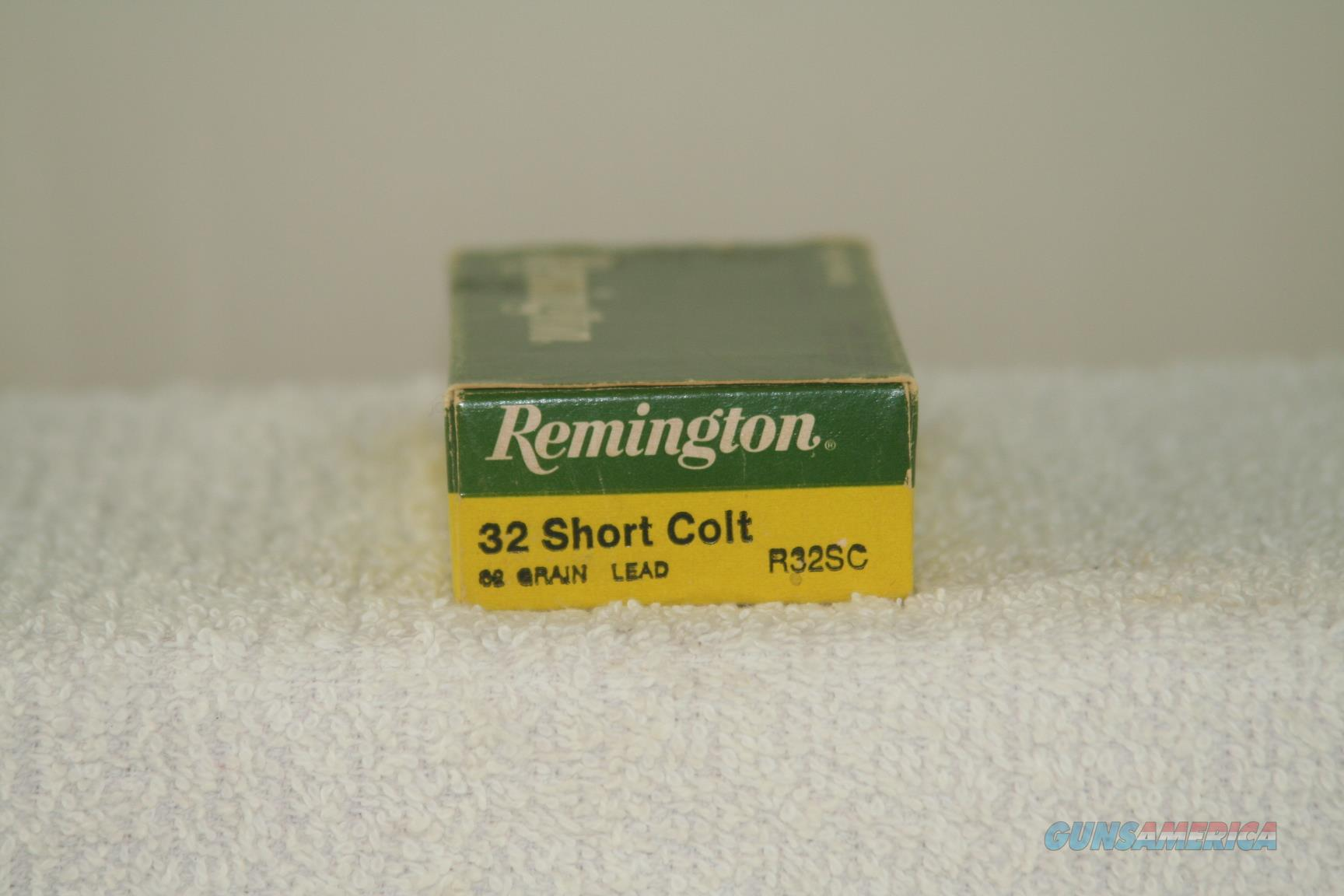 Remington 32 Short Colt  Non-Guns > Ammunition