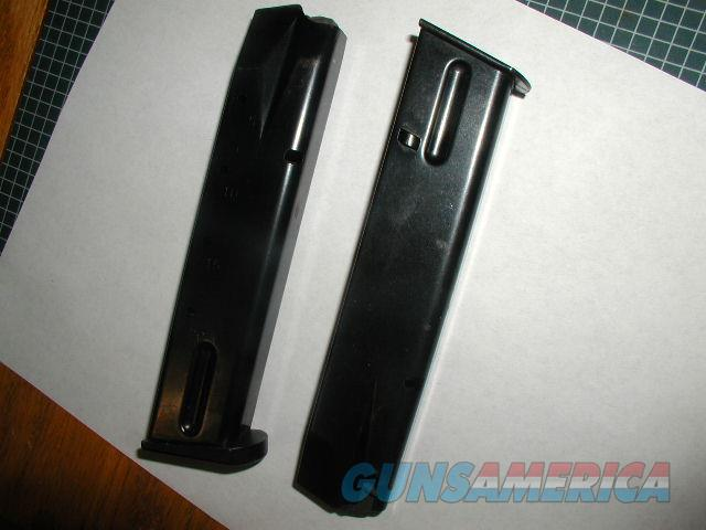 USED BLUE 20 RD 9MM MAGAZINES FOR TAURUS PT92 PT 99  Non-Guns > Magazines & Clips > Pistol Magazines > Other