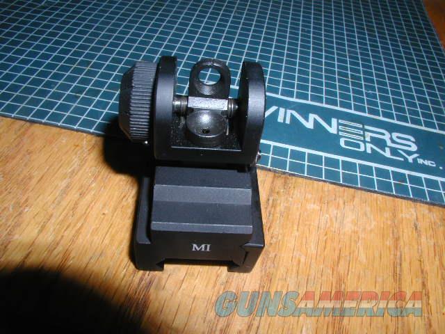 Midwest Industries Folding A2 Rear sight  Non-Guns > Iron/Metal/Peep Sights