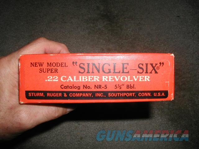 Pre-Warning 1973 NM Super Single 6 22Mag/22 LR  Guns > Pistols > Ruger Single Action Revolvers > Single Six Type