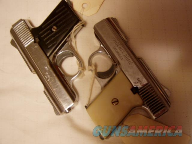 YOUR CHOICE  RAVEN MP-25 OF TWO  NICKEL 6+1 25ACP  155.00  Guns > Pistols > R Misc Pistols