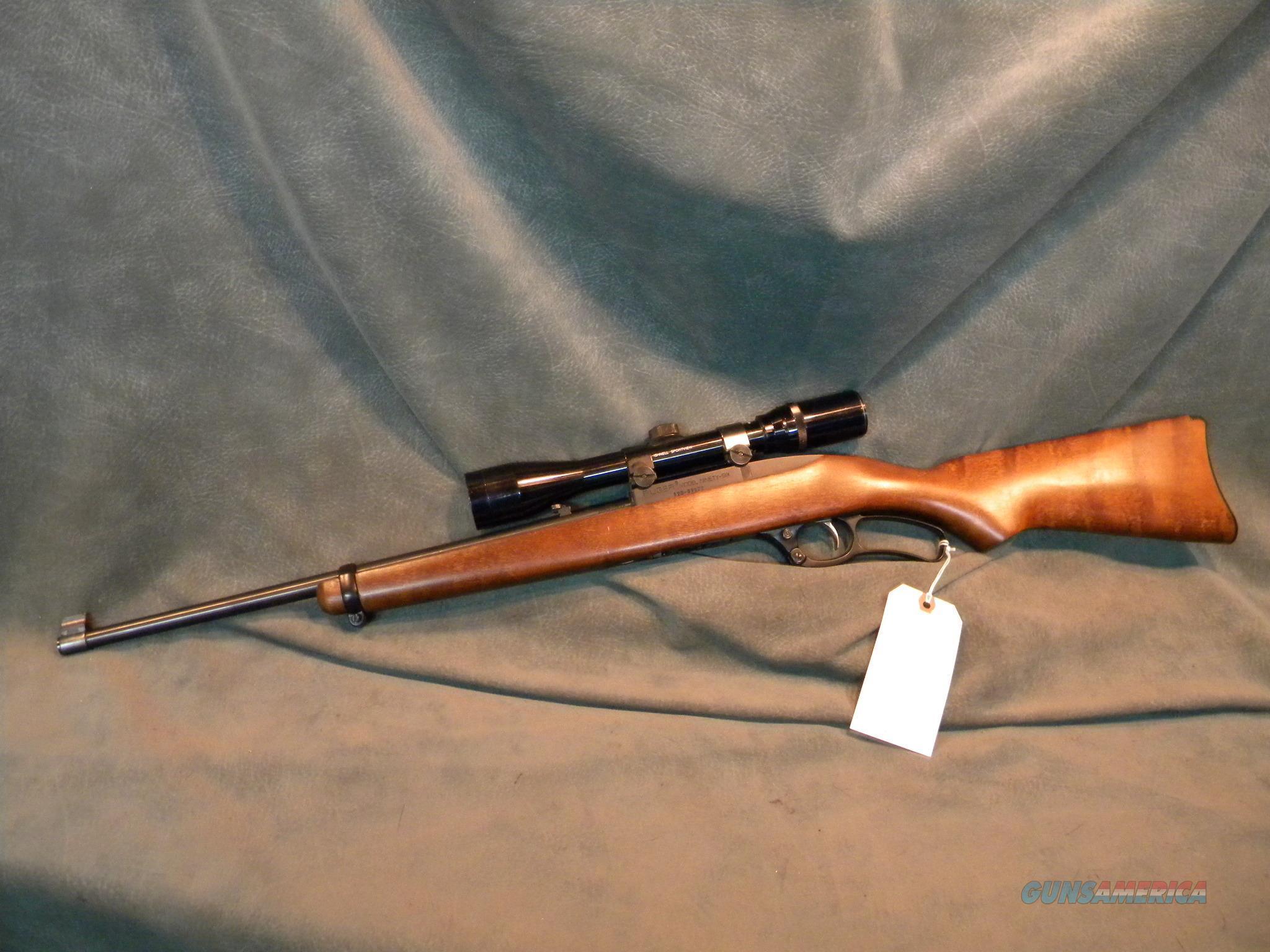 NO LONGER MADE RUGER 96 Lever 22 MAGNUM Scoped  Guns > Rifles > Ruger Rifles > Lever Action