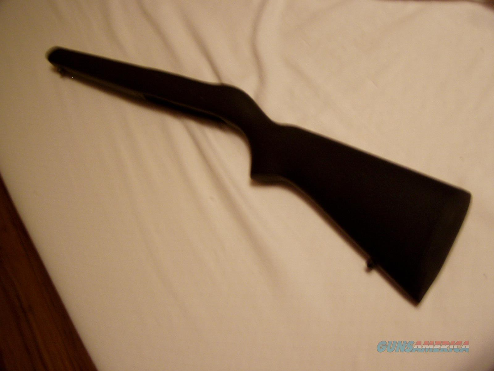 BELL & CARLSON SYN.  BLACK STOCK WITH  BELL & CARLSON  MARKED BUTT PAD FOR RUGER 10-22 WITH OUT LAST SHOT HOLD OPEN FEATURE  EXCELLENT CONDITION $ 79.00   Non-Guns > Gunstocks, Grips & Wood