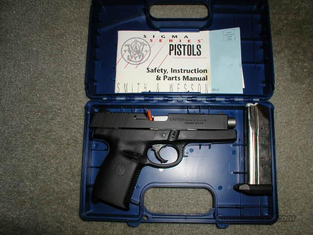 TRADE PRE-BAN SIGMA 9mm 1994*MUST CALL*  Guns > Pistols > Smith & Wesson Pistols - Autos > Polymer Frame