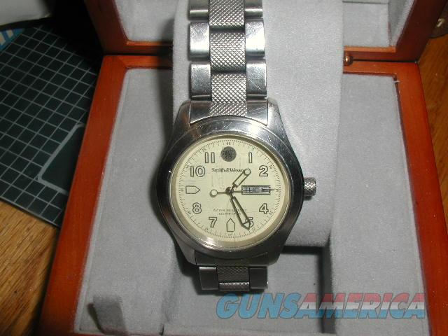 S&W MANS WATCH   Non-Guns > Logo & Clothing Merchandise