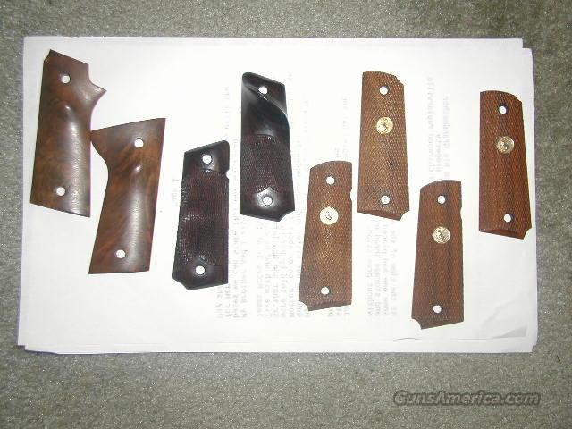 **MUST CALL***ASSORTED GRIPS FOR COLT 1911  Non-Guns > Gunstocks, Grips & Wood