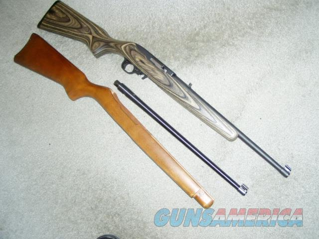 YOUTH/ ADULT COMBO 10-22 22LR SEMI-AUTO RIFLE  Guns > Rifles > Ruger Rifles > 10-22