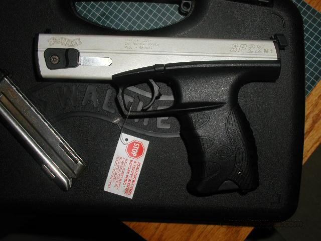 WALTHER SP 22 M1 TARGET PISTOL  Guns > Pistols > Walther Pistols > Post WWII > P22