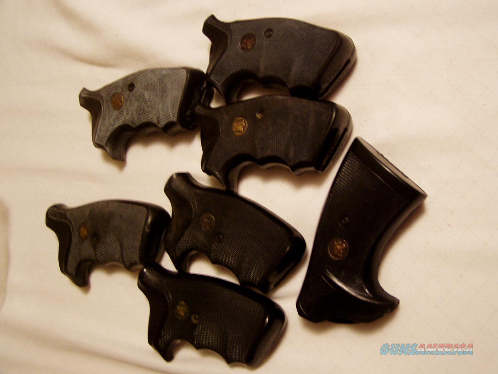 7 PAIR OF PACHMYERS S&W K FRAME SQUARE BUTT GRIPS  Non-Guns > Gunstocks, Grips & Wood