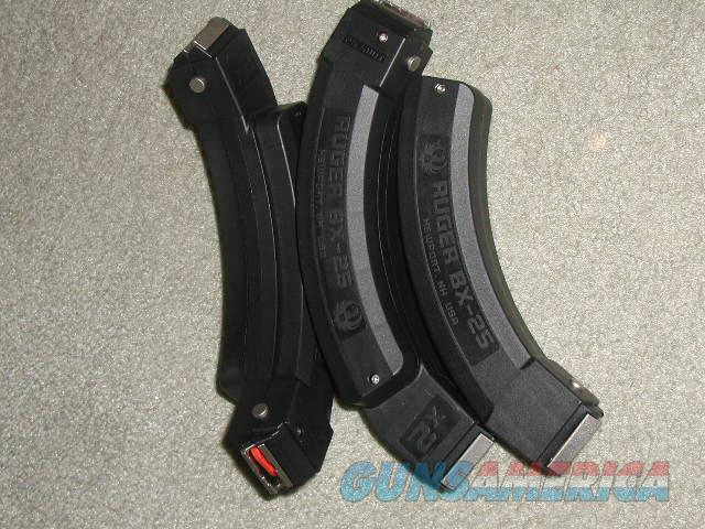 RUGER  BX25X2 Magazines OR BX25 Magazines  Non-Guns > Magazines & Clips > Rifle Magazines > 10/22