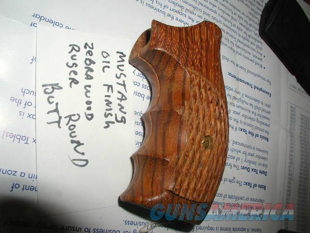 MUSTANG OIL FINISH ZEBRAWOOD FOR RUGER RD BUTT  Non-Guns > Gunstocks, Grips & Wood
