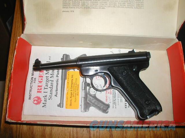 RUGER MK 1 4.75 Inch $ 349  Guns > Pistols > Ruger Semi-Auto Pistols > Mark I/II/III/IV Family