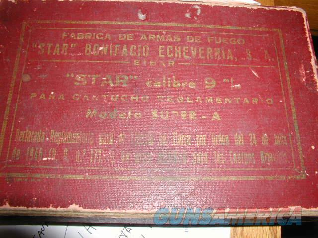 STAR MODELO A Super 9 MM BOX  Non-Guns > Gun Cases