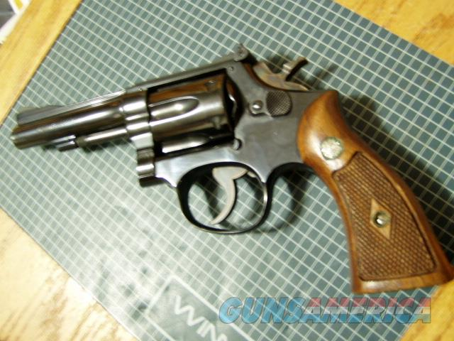 S&W 18-2 (1964) 3 SCREW PINNED AND RECESSED 4 INCH  MODEL  Guns > Pistols > Smith & Wesson Revolvers > Med. Frame ( K/L )