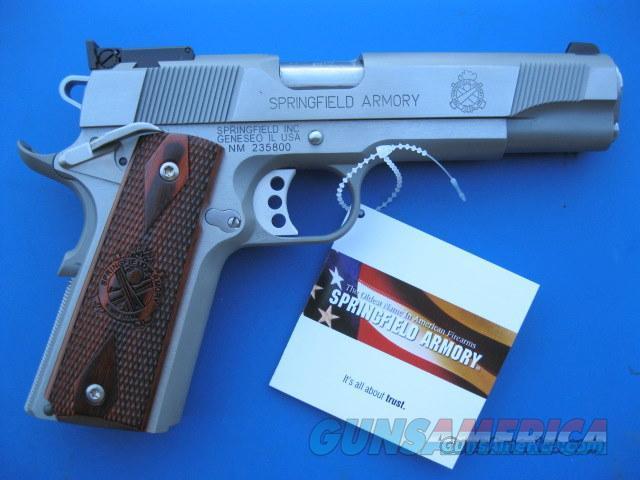 Brand NEW Springfield 1911 .45 acp Stainless steel SKU # PI9132LP   Guns > Pistols > Springfield Armory Pistols > 1911 Type