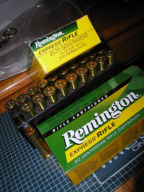 **MUST CALL****Remington Express Rifle 45-70 300 GR SJHP  Non-Guns > Ammunition