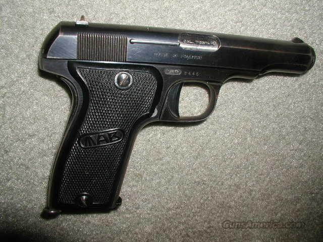 MAB Model D (FRENCH) 32ACP *MUST CALL*  Guns > Pistols > F Misc Pistols