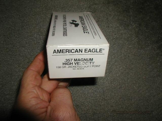 AMERICAN EAGLE 357 Magnun 158 GR SP  Non-Guns > Ammunition