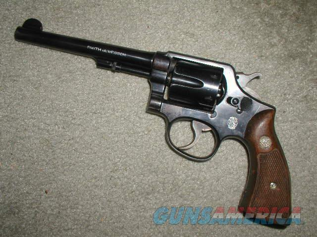 S&W BLUE 1905 6 inch HE 4Th CHANGE   Guns > Pistols > Smith & Wesson Revolvers > Model 10