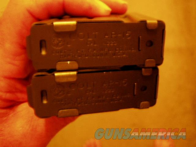 COLT SP 1 20 Rd Mags LOOK NEW 5@ $ 100 Each   Non-Guns > Magazines & Clips > Rifle Magazines > AR-15 Type