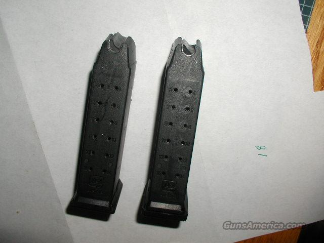 PAIR GLOCK 19 15 RD 9MM  1 IS PLUS 2  Non-Guns > Magazines & Clips > Pistol Magazines > Glock
