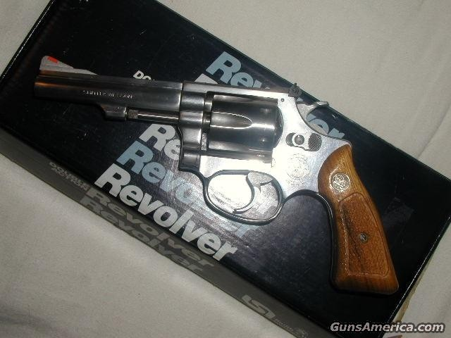 DiscontinuedM-63 (NO-)4IN NIB  Guns > Pistols > Smith & Wesson Revolvers