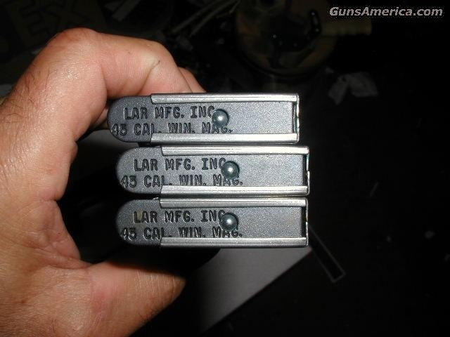 LAR GRIZZY MK1 45WM Clips $125  Non-Guns > Magazines & Clips