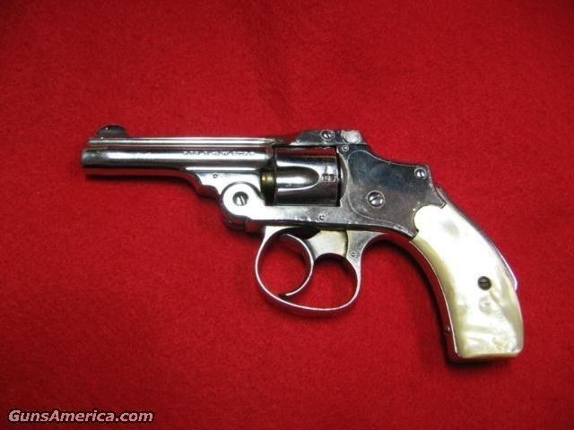 Nickel 3Rd Model Safety 32$295  Guns > Pistols > Smith & Wesson Revolvers