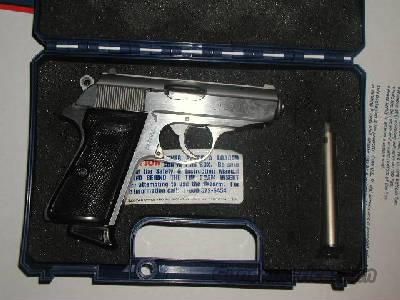 PPKS 380 Interarms Stainless  Guns > Pistols > Walther Pistols > Post WWII > PP Series