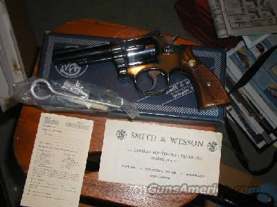 "S&W 18-4 4"" 1981 NIB  Guns > Pistols > Smith & Wesson Revolvers > Full Frame Revolver"