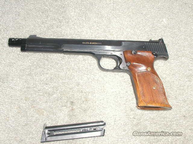 S&W 41  SN  95034  Guns > Pistols > Smith & Wesson Pistols - Autos > Steel Frame
