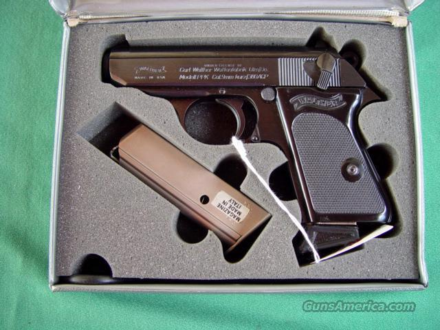PPK 380 BLUE Interarms  Guns > Pistols > Walther Pistols > Post WWII > PP Series
