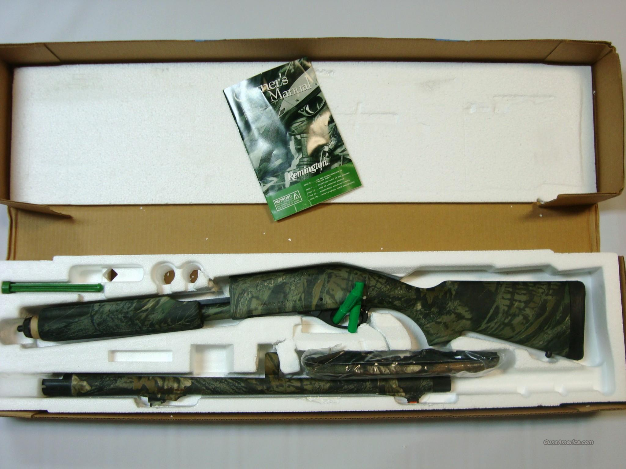 Remington Youth Camo 12 Ga New In Box  Guns > Shotguns > Remington Shotguns  > Pump > Hunting