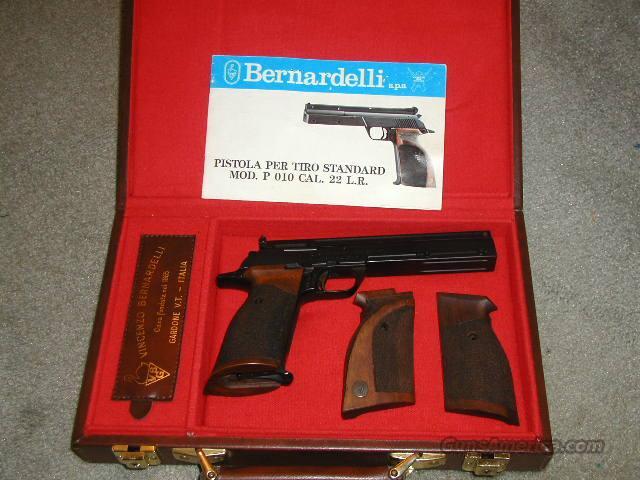 Vincenzo Bernardelli S.P.A. Target Pistol P010 Guns > Pistols