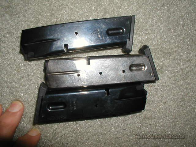 MEGAR DOUBLE STACK S & W  15 Rd 9mm   BLUE MAGAZINE  Non-Guns > Magazines & Clips > Pistol Magazines > Smith & Wesson