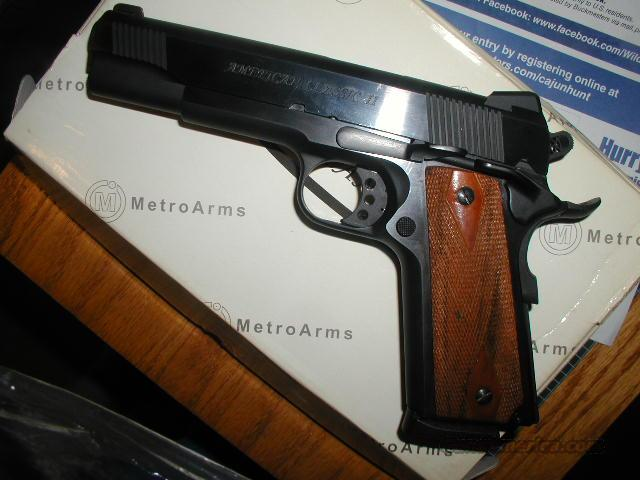 Trade 1911A1 45  FOR Marlin 357 Lever  Guns > Pistols > 1911 Pistol Copies (non-Colt)