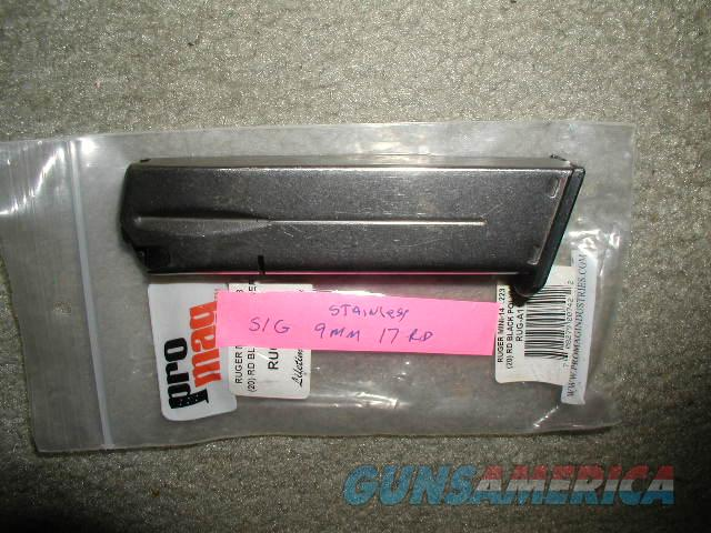 Ram-line 9mm SIG SAUER 15=2+17 rounds $ 25 DELIVERED   Non-Guns > Magazines & Clips > Pistol Magazines > Other