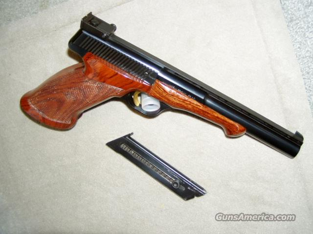***MUST CALL**BELIGUM MEDALIST 6.75 Inch 1966 UNFIRED?  Guns > Pistols > Browning Pistols > Other Autos