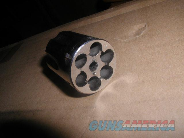FACTORY NICKEL S&W Model 15 38Spl Cylinder  Non-Guns > Gun Parts > By Manufacturer > Smith & Wesson