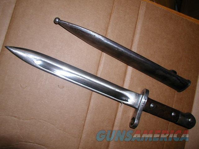HUNGARIAN MAUSER SHORT BAYONET VERY GOOD CONDITION  Non-Guns > Knives/Swords > Military > Bayonets