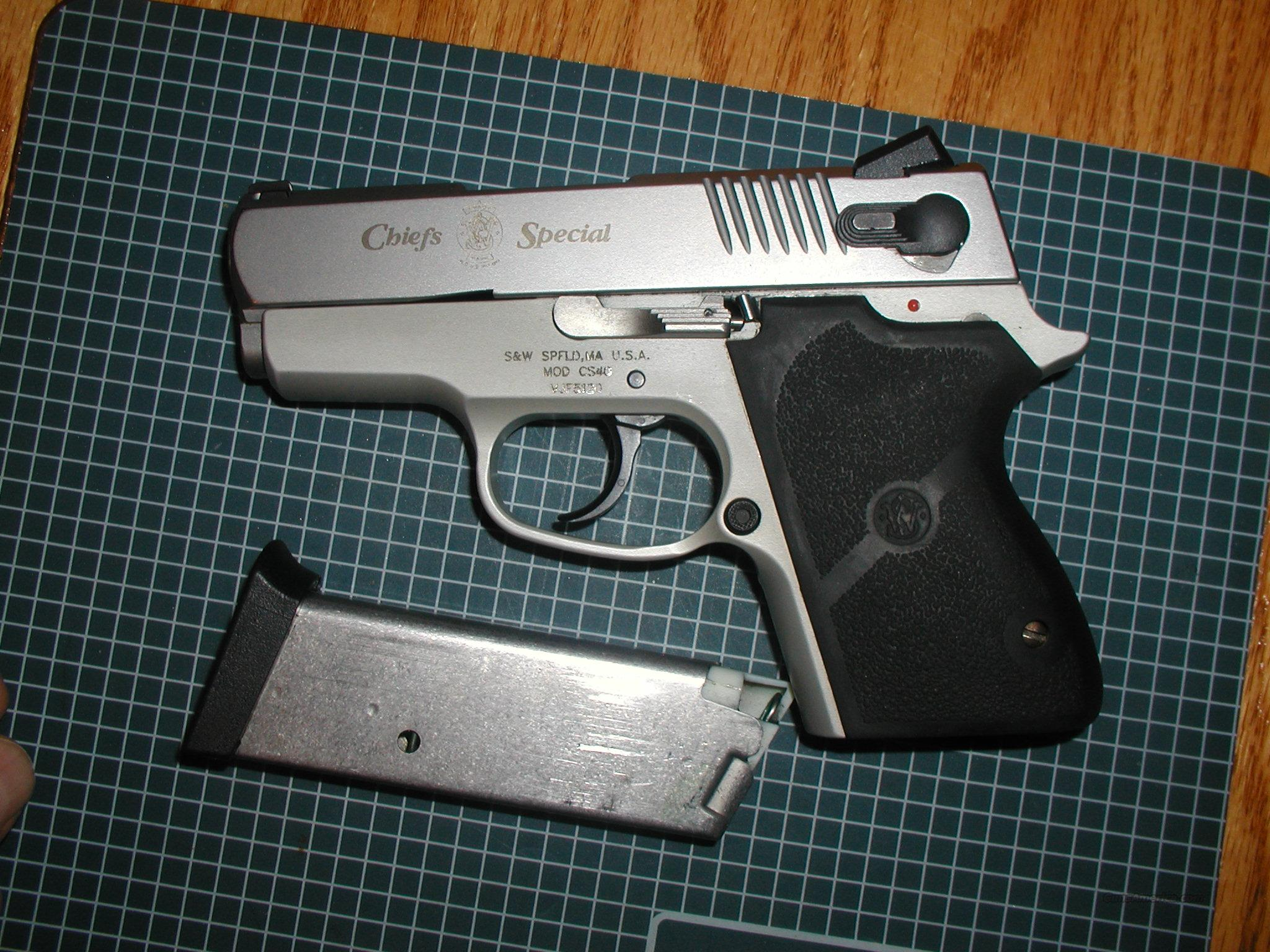 * SALE PENDINGS&W Chief Special 40 S&W Stainless Semi-Auto  Guns > Pistols > Smith & Wesson Pistols - Autos > Alloy Frame