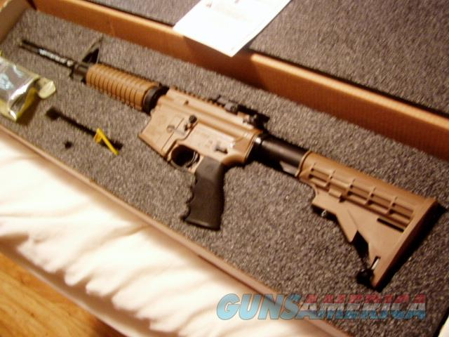 DAVIDSON'S EXCLUSIVE RUGER AR556 TAN & BLACK  DARK EARTH  $50 OVER WHOLESALE $ 675  Guns > Rifles > Ruger Rifles > AR Series