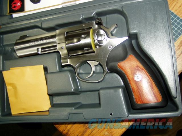 LIGHTY USED RUGER STAINLESS GP100 357 Magnum 4.2INCH IN BOX   Guns > Pistols > Ruger Double Action Revolver > GP100