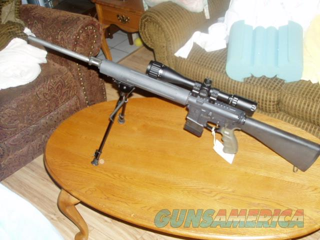 COLT Accurized Rifle A3 HBAR Elite 24 In Stainless Barrel  Number 1,173 1St year 1996 Run  Guns > Rifles > Colt Military/Tactical Rifles