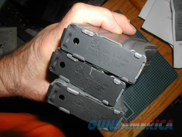 COLT  FACTORY MAGAZINES HAS COLT PONY  30RDS   Non-Guns > Magazines & Clips > Rifle Magazines > AR-15 Type