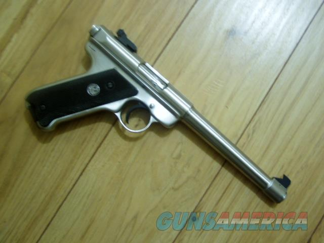"""RUGER MK II TARGET  6&7/8 """" Tapperd barrel Not drilled and tapped for scope base  Guns > Pistols > Ruger Semi-Auto Pistols > Mark I/II/III/IV Family"""