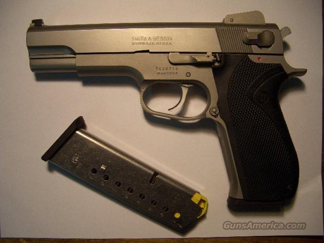 S&W 1006   10MM  Guns > Pistols > Smith & Wesson Pistols - Autos > Steel Frame