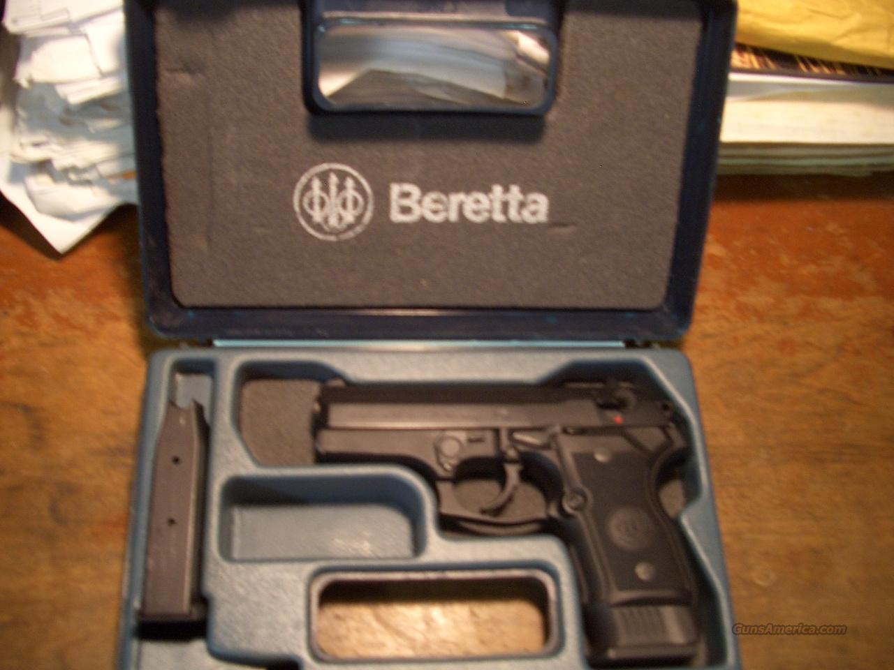 BERETTA 8045F MINI COUGAR  Guns > Pistols > Beretta Pistols > Rare & Collectible