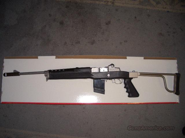 RUGER MINI-14 STAINLESS FOLDER  Guns > Rifles > Ruger Rifles > Mini-14 Type