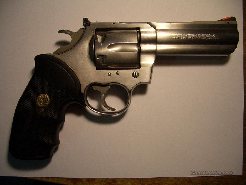 "COLT KING COBRA 4"" STNLSS  Guns > Pistols > Colt Double Action Revolvers- Modern"